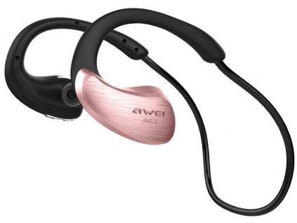Awei bezdratova sportovni sluchatka za usi A885BL ruzova