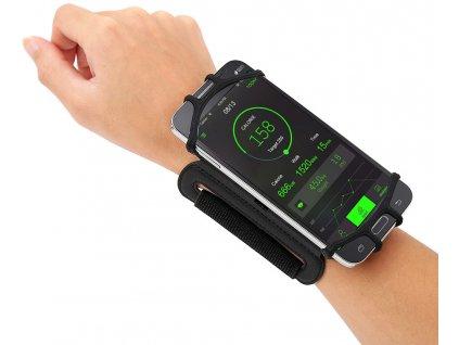 drzak na mobil na ruku na zapesti silikonovy ykz w13