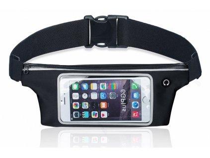 sportovni ledvinka pouzdro na mobil pruhledna pruhledne dotykova dotykovy display west biking yp0707130