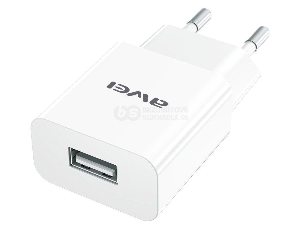Kvalitná nabíjačka na mobil s micro usb káblom awei C810