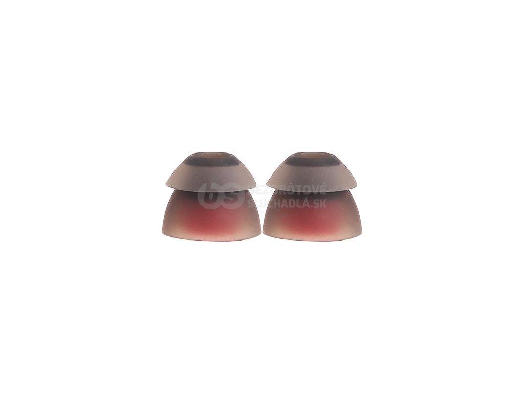 dvoch vrstve nahrali štupľov silikónový na sluchatka do usi vsonic dl02