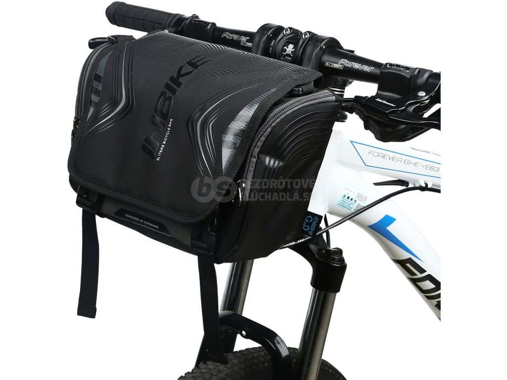 cierna brasna na bicykel kolobežky inbike click fix