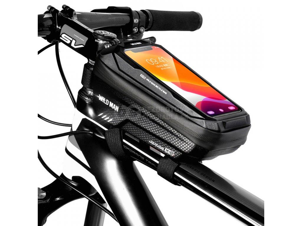 puzdro na mobil na ram kolesá wild man x2