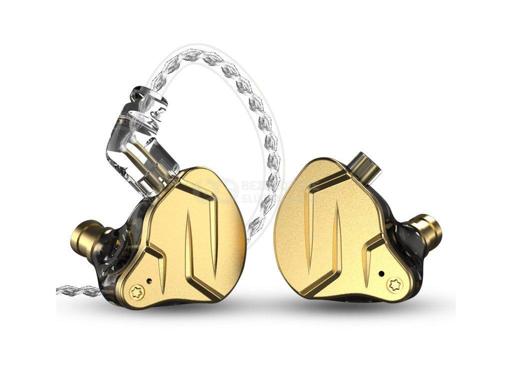 KZ ZSN Pro X vylepšená slúchadlá do uší s dvoma meničmi