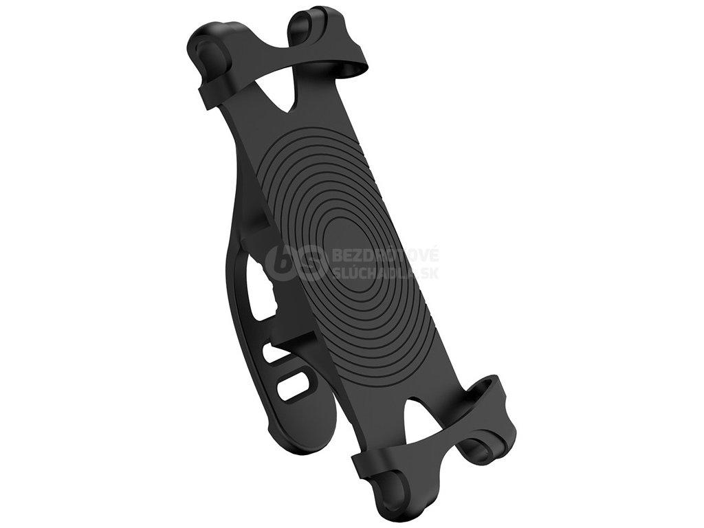 Silikónové drzak na mobil na bicykel cierny kvalitni drzak smartphonu west biking yp0715046