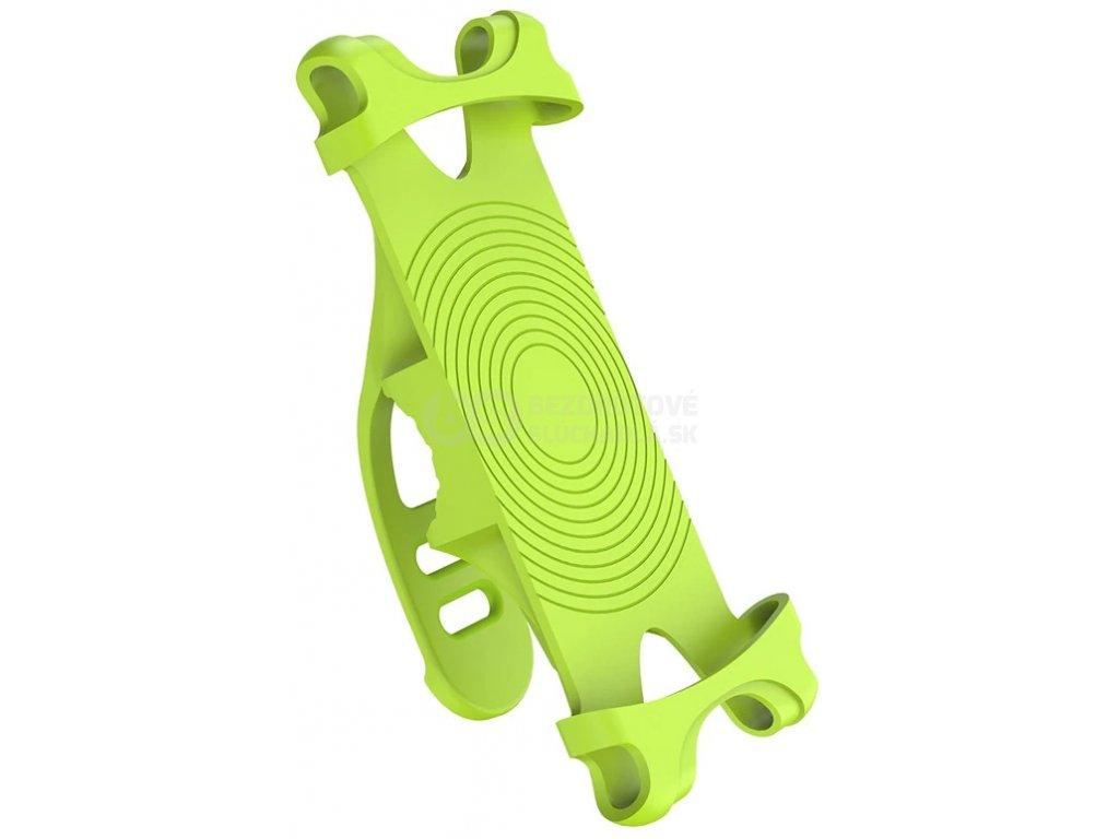 zeleny drzak mobilu na bicykel west biking yp0715046