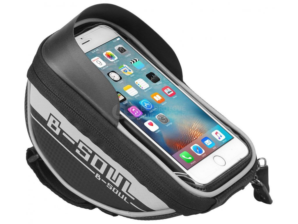 brasna na mobil na bicykel drzak mobilu na bicykel taska tasticka na riadidlá b soul cy82101