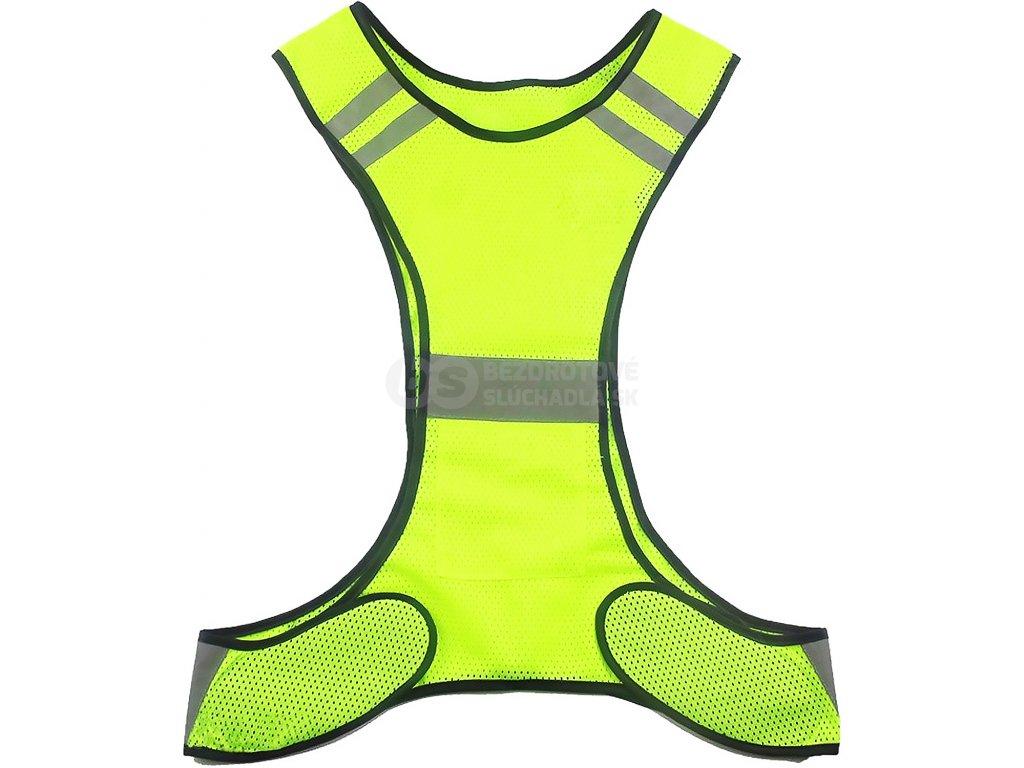 reflexná vesta na šport koleso behanie reflexívne vesta west biking yp0209017