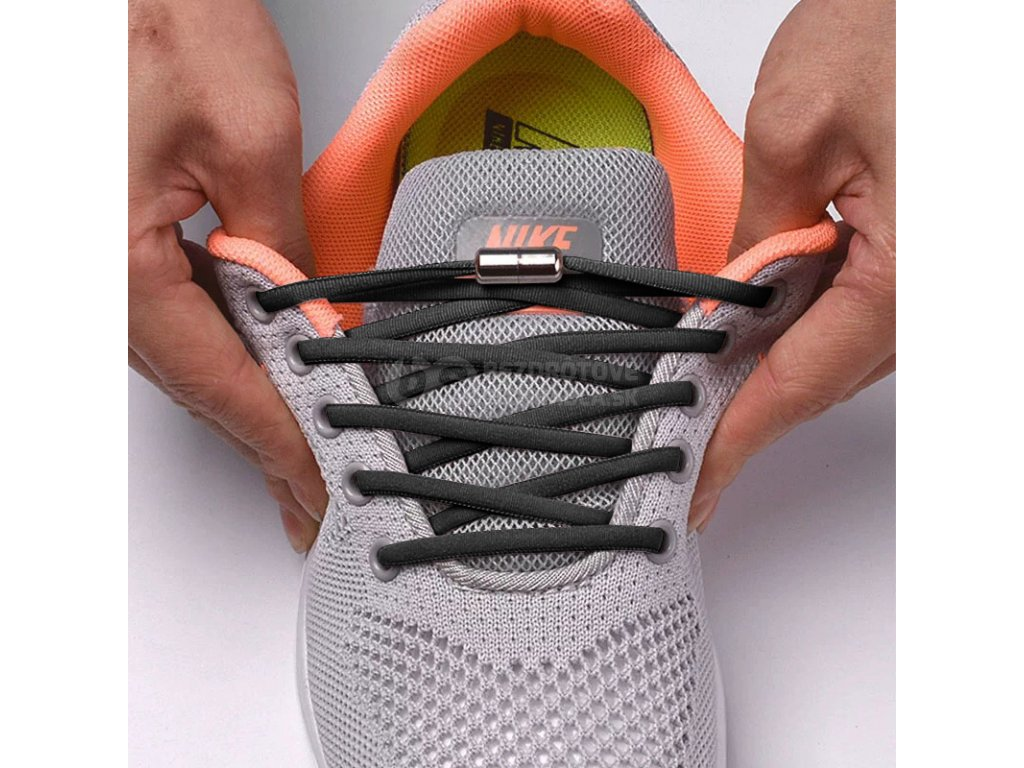 elasticke gumove šnúrky do topánok bez viazania rychlo Zaväzovacia DAVAY slip