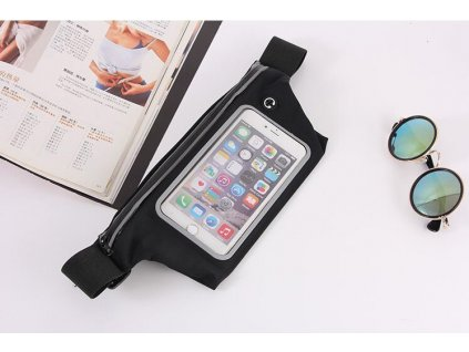 sportove ľadvinka puzdro na mobil Priesvitné dotykový dotykový display west biking yp0707130