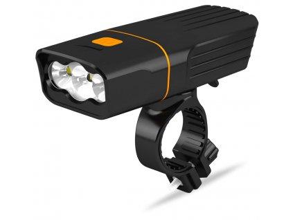 výkonné svetlá na bicykel DAVAY tk3