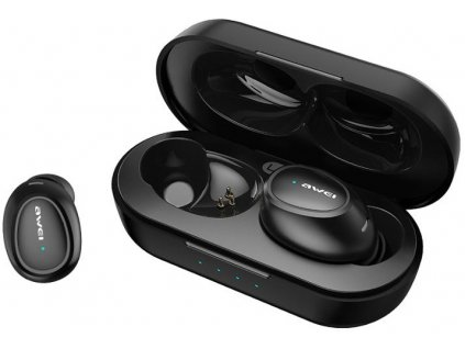 awei T16 bezdrôtové Bluetooth sluchatka do usi true wireless TWS