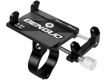 hlinikovy hlinený drzak na mobil na riadidlá bicykla benguo x 81