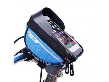 modra brasna na mobil na riadidlá na bicykel b soul ya 295