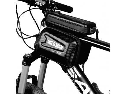 cyklo brasna na ram pre mobil na tyc kolesá wild man e6s
