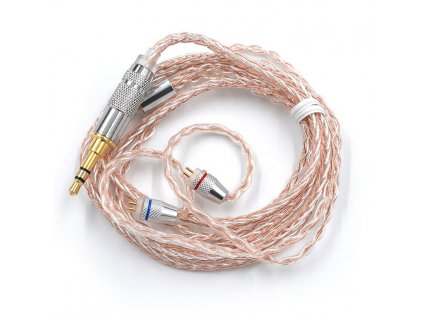 kz kábel mixed strieborny medený pre zsa ZST ZS10 ed12