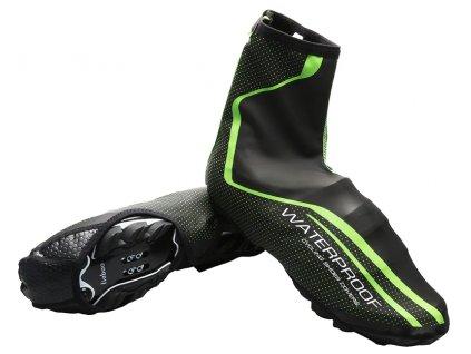 cyklisticke nepremokavé návleky na topánky na bicykel west biking yp0215037
