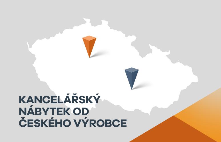 Kancelářský nábytek od českého výrobce