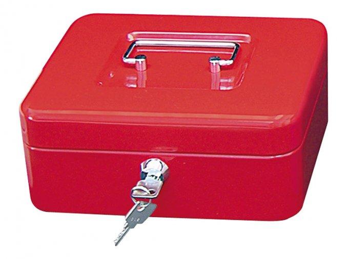 Přenosná pokladna WEDO 200, červená