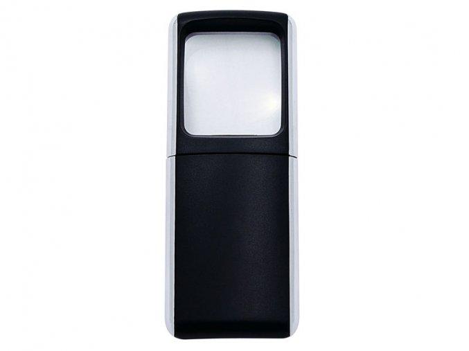 Lupa WEDO s LED světlem černá  Svítící lupa s LED diodou.