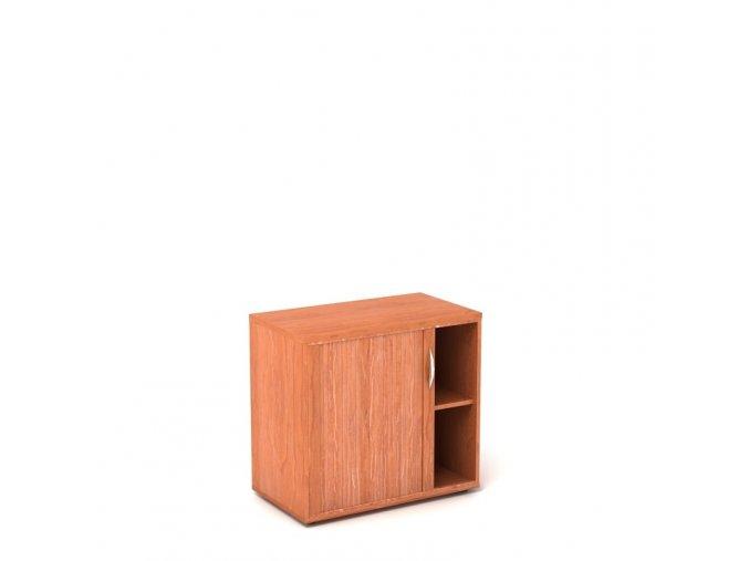 Přístavná skříň 80x60/76 2 patra roletková