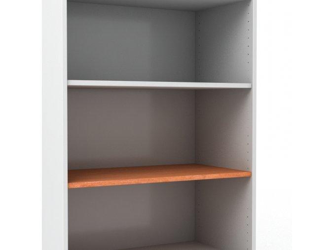Police do kancelářské skříně š. 80 cm hl. 60 cm
