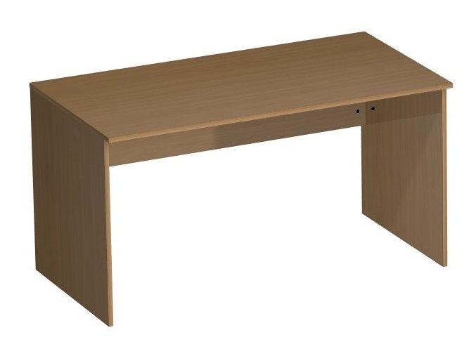 Psací stůl 140/75 lamino podnož - STANDARD