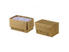 Odpadní papírové pytle pro REXEL Auto+80/90  Recyklovatelné papírové pytle do odpadních nádob skartovacích strojů.