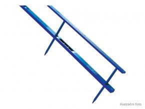 Hřebenové hřbety GBC VELOBINDER, 45mm,25ks,modré  Hřebenové hřbety se čtyřmi trny