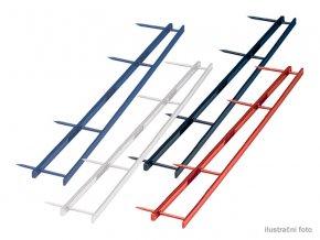 Hřebenové hřbety GBC VELOBINDER, 45mm,25ks,červené  Hřebenové hřbety se čtyřmi trny