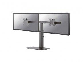 "NewStar Flat Screen držák na 2 PC monitory 10-27""  černý"