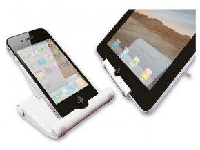 NewStar stojan na tablet / telefon nosnost 5kg  bílý