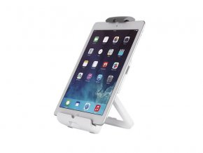 NewStar stojan na tablet / telefon nosnost 1kg  bílý