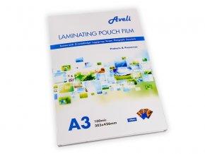 Laminovací fólie AVELI A3/200mic (2x100),lesklé
