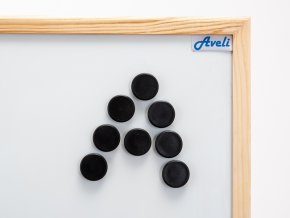 Set magnetů AVELI, černá barva
