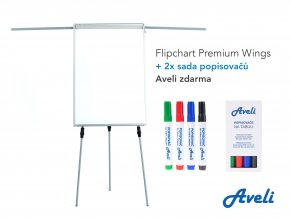 Flipchart AVELI PREMIUM WINGS + dárek