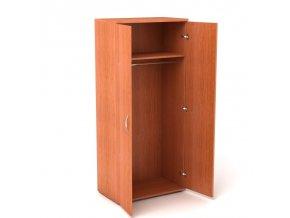 Šatní skříň 80x45/182 5 pater s volným prostorem