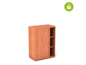 Roletková skříň 80x45/112 3 patra roletka levá zamykatelná