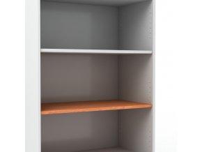 Police do kancelářské skříně š. 80 cm hl. 45 cm