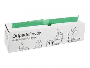 Odpadní pytle typ I, zelené  Výměnné pytle do odpadních nádob ke skartovacím strojům.