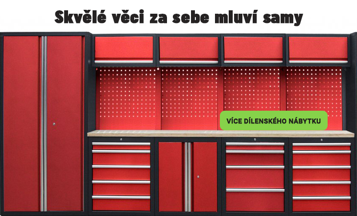 Dílenský nábytek PROFI RED