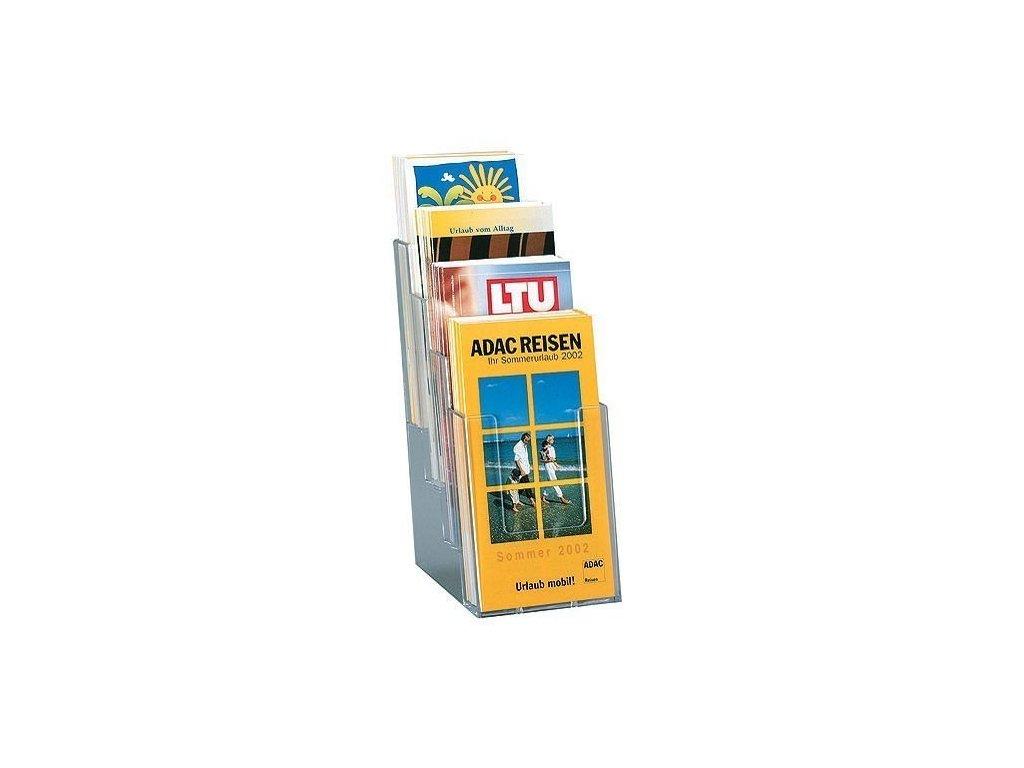 Plexi držák 1/3 A4 4-dílný na stůl - 713000050