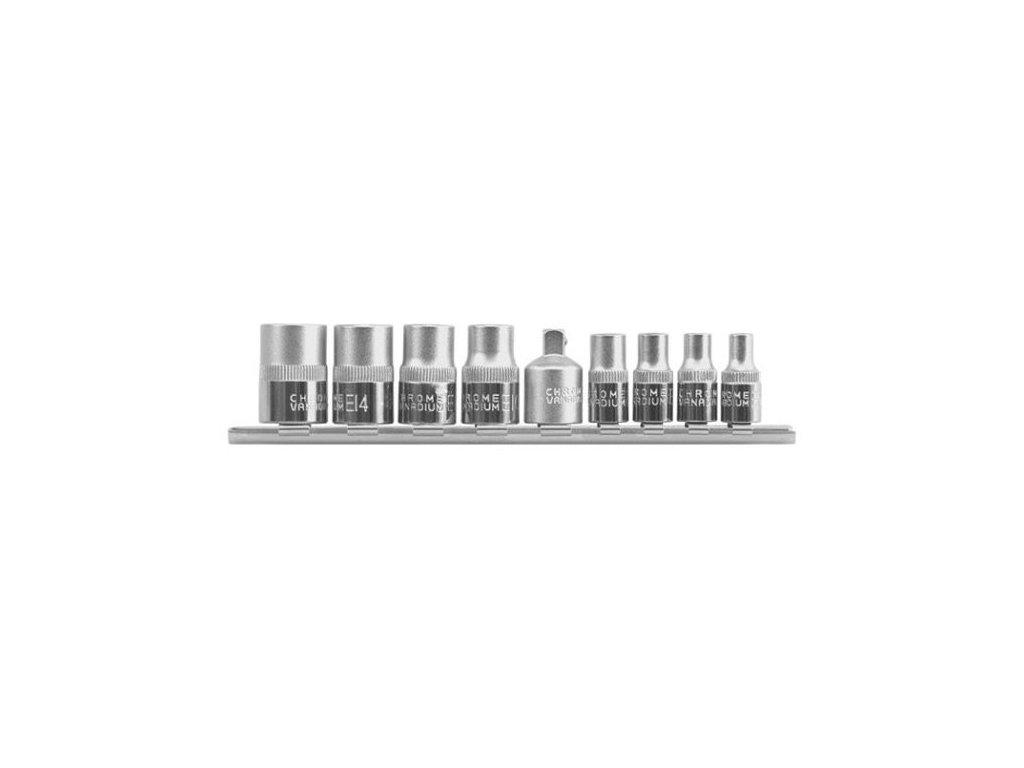 """Sada vnitřních nástrčných klíčů 1/4"""", 3/8"""" TORX 9 ks E5-E16 YATO - YT-0520"""
