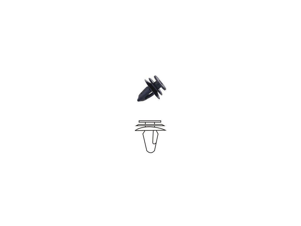 Plastové příchytky čalounění - HRD06