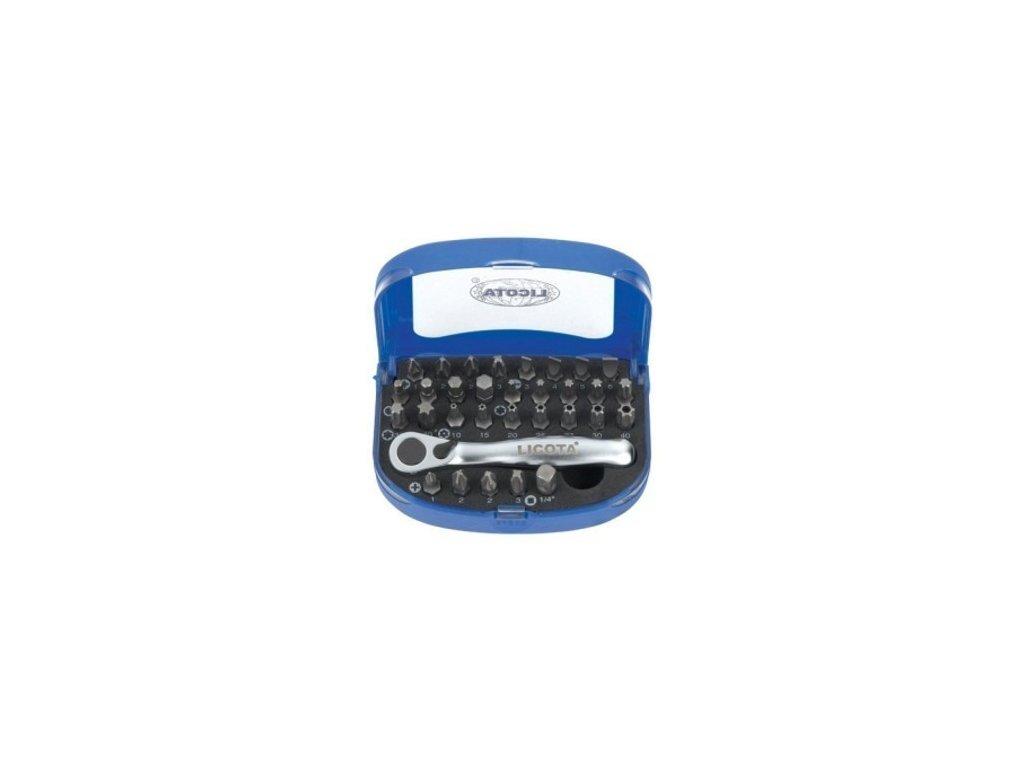 Mini sada bitů a ráčny 32 ks - LIABD70002