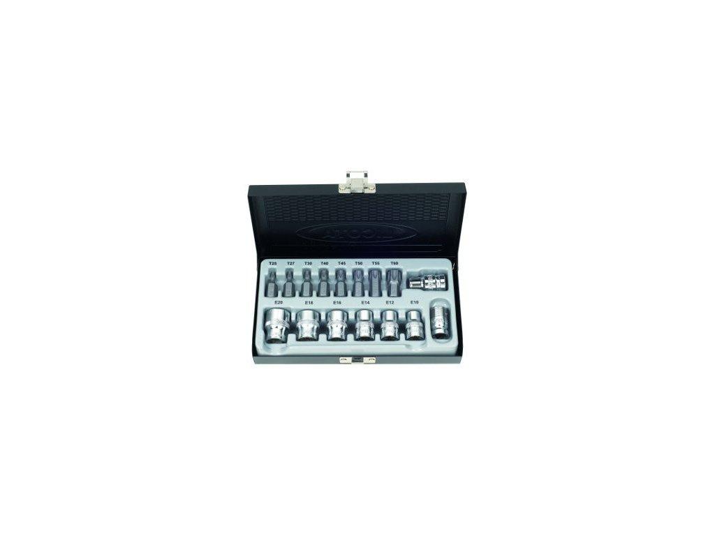 Sada nástavců a bitů TORX 16 ks - LIABS80008