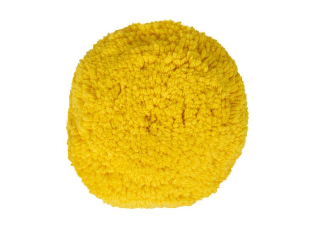Leštící kotouč žlutá vlna, Ø150 mm - C251039