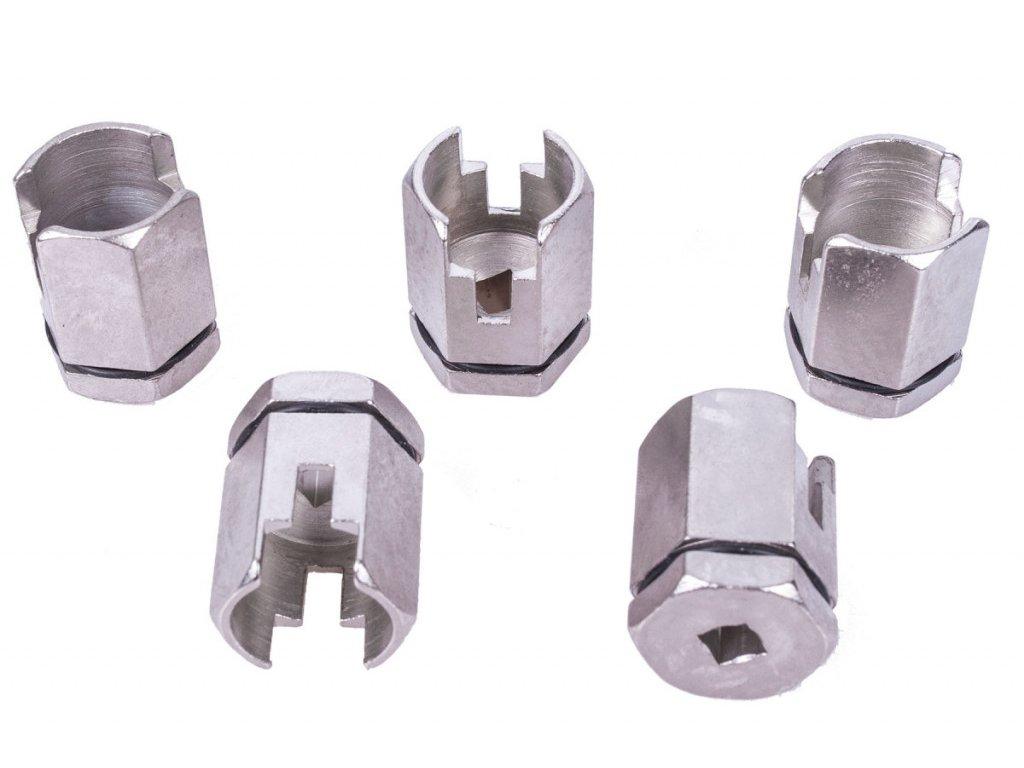 Nástrčky na odvzdušňovací ventil chladiče 5 ks - C014107