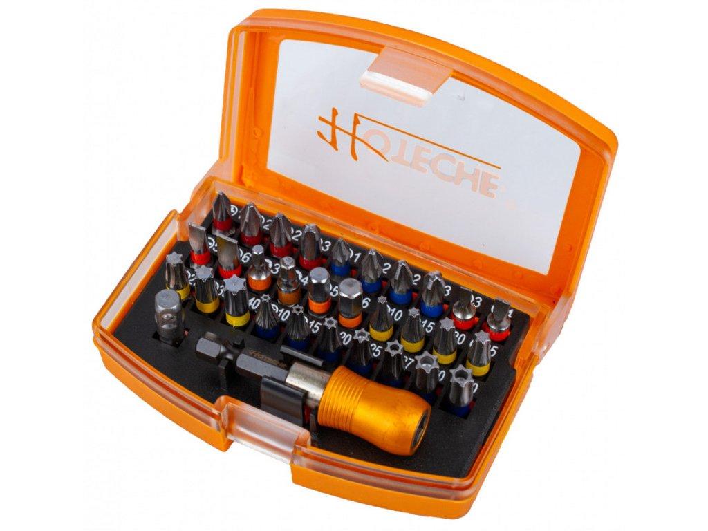 "Sada bitů s adaptérem 1/4"", 32 ks - HT251032"