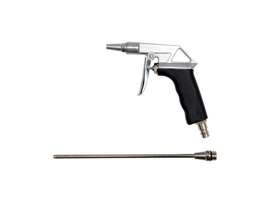 """Pistole na profukování dlouhá 0,8Mpa 1/4"""" - YT-2373"""